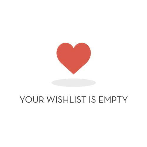 empty wishlist