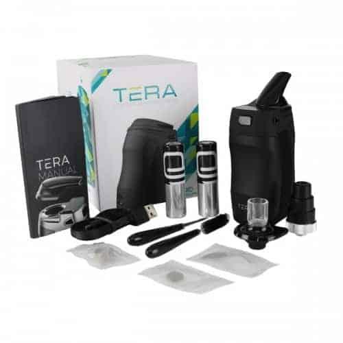 Boundless Tera Vaporizer All Contents