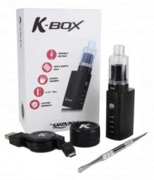 Kandypens K Box Vaporizer All Contents