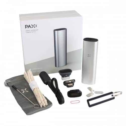 Pax 3 Complete Kit All Contents