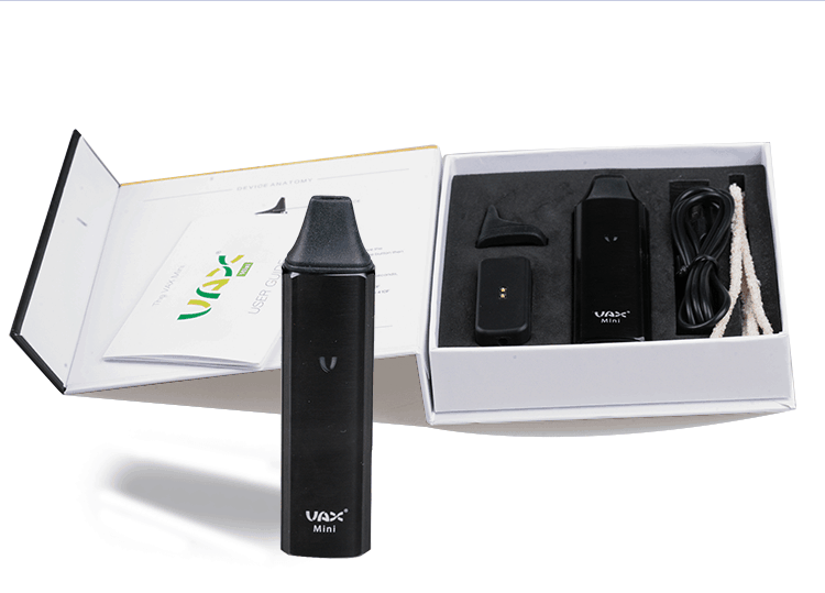 Vax Mini Vaporizer Black Pack