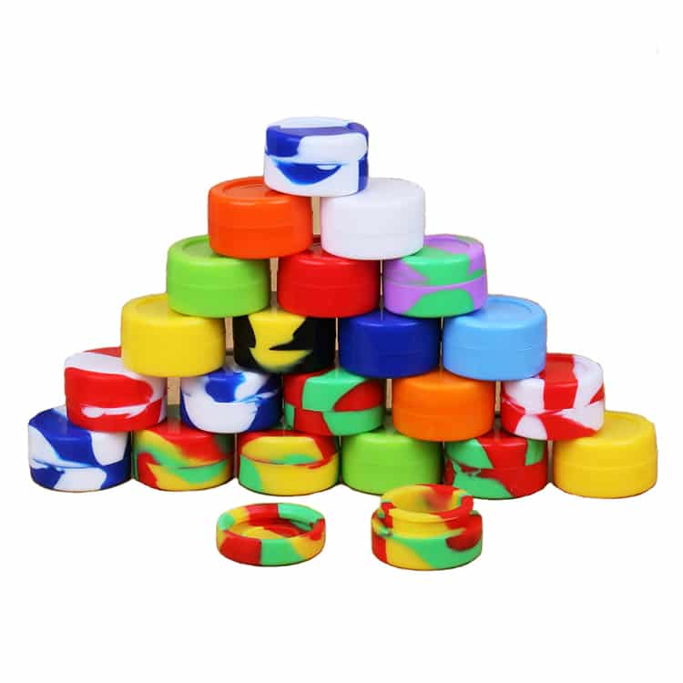 5ml Containers Nonstick Jar Wax Storagesm