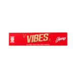 Vibes King Size Rolling Papers Hemp