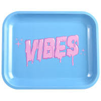 Vibes Rolling Tray Small Blue