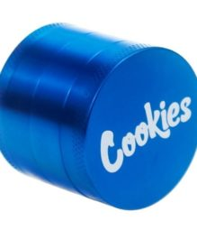 63mm Cookies Blue 4 Piece Grinder