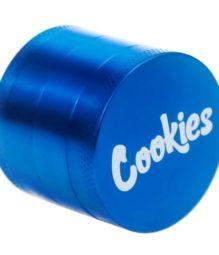 63mm Cookies Blue 4 Piece Grinder