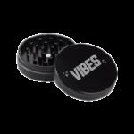 Vibes 2 Piece Grinder 63mm Black 2