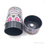 Airtight Tobacco Container Skull Pattern
