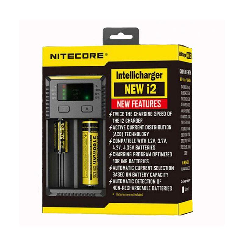 Nitecore New I2 Intellicharger 2 Channel Univer Al Battery 4