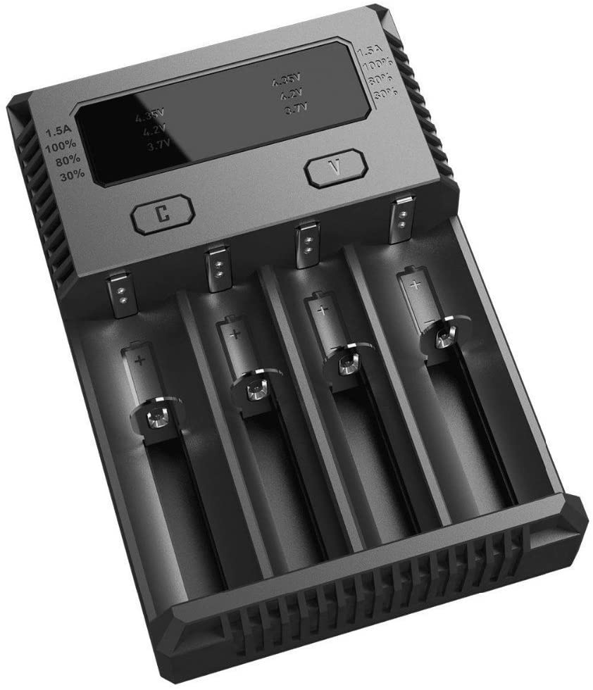 Nitecore New I4 Intellicharger 2 Channel Univer Al Battery 1