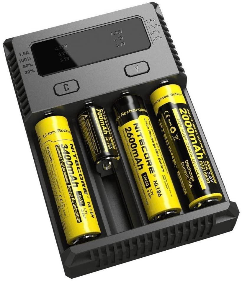 Nitecore New I4 Intellicharger 2 Channel Univer Al Battery 2
