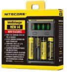 Nitecore New I4 Intellicharger 2 Channel Univer Al Battery 5